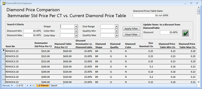 GEMINI® Pro Includes Enhanced Diamond Price Management